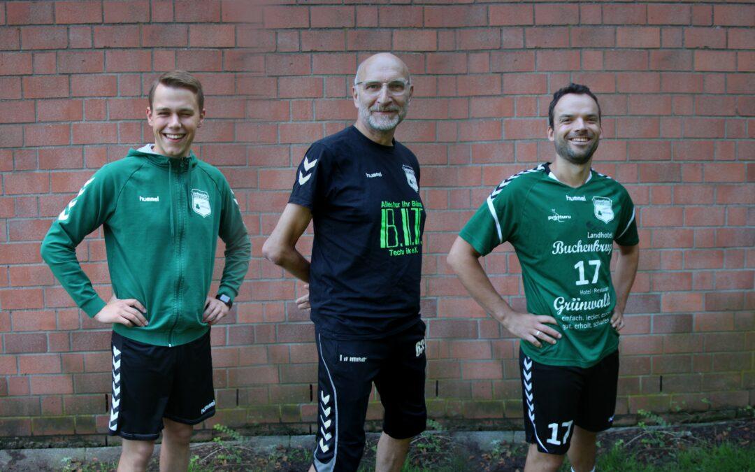Trainer-Trio für die 1.Herren
