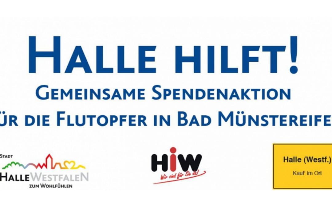 Gemeinsame Spendenaktion dank alter Handball-Freundschaften