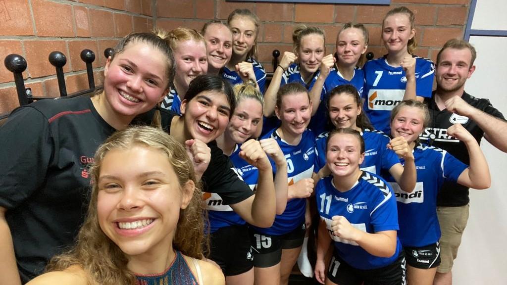 weibliche B-Jugend – JSG Hesselteich-Loxten   Spielfotos vom 09.09.2021