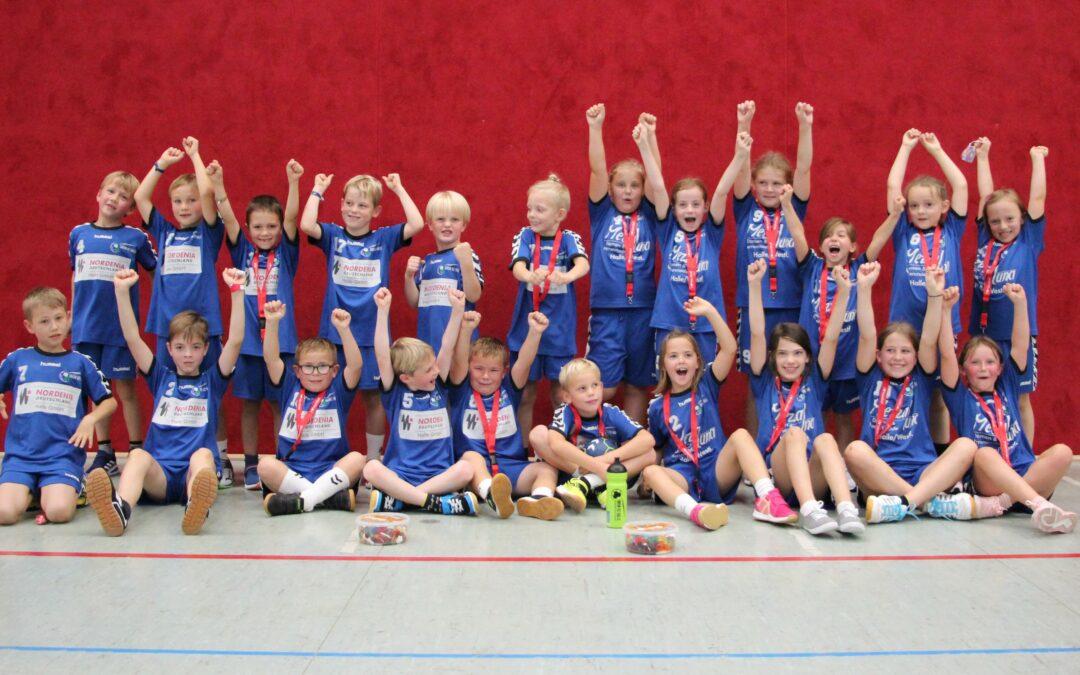 Viel Spaß und spannende Handballspiele unserer Jüngsten